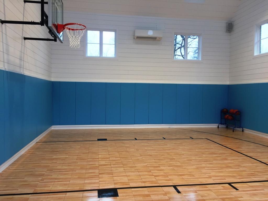 carolina-blue-wall-padding-in-home-gymnasium