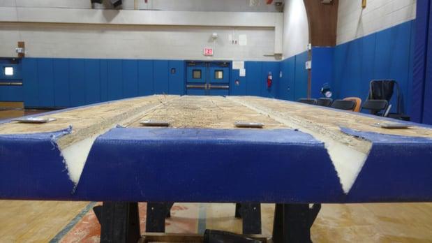 installing-wall-padding-fieldston-new-york