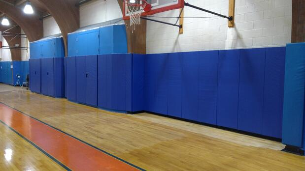gymnasium-wall-padding-fieldston-school-new-york