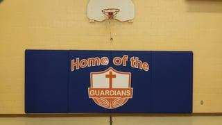 St._Joseph-catholic-school-arnprior-customized-wall-padding-with-logo