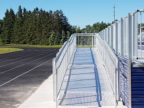 accessible-ramp-country-day-school-bleacher