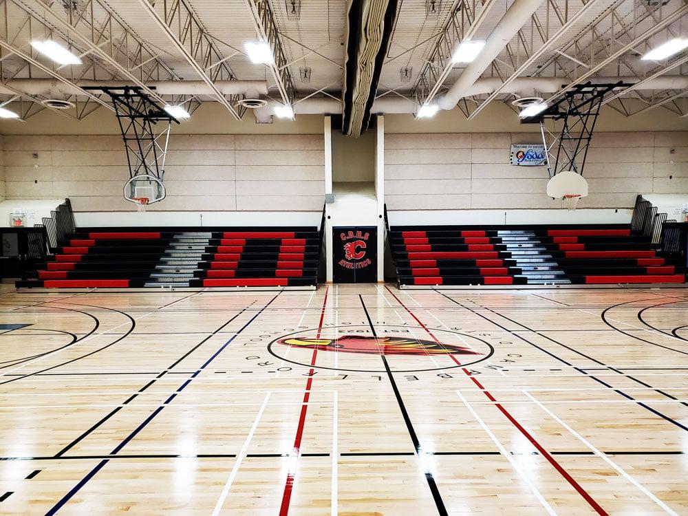 campbellford-high-school-gym-bleachers