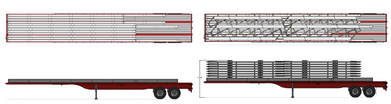 design-rendering-of-bleachers-loaded-on-tractor-trailer