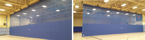 gym-divider-curtain-canadian-forces-facility
