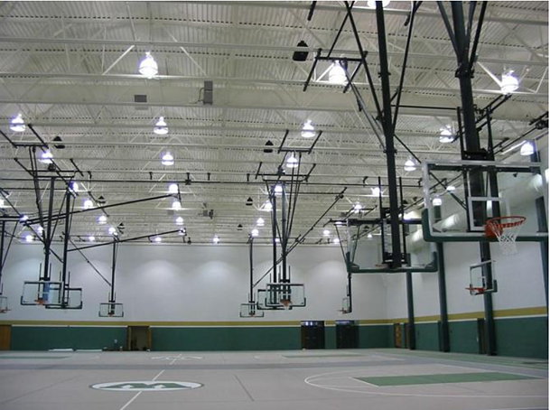 gym-with-ceiling-suspended-basketball-backboards