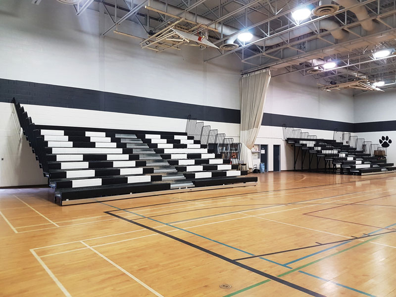 hampton-high-school-telescopic-bleachers-open