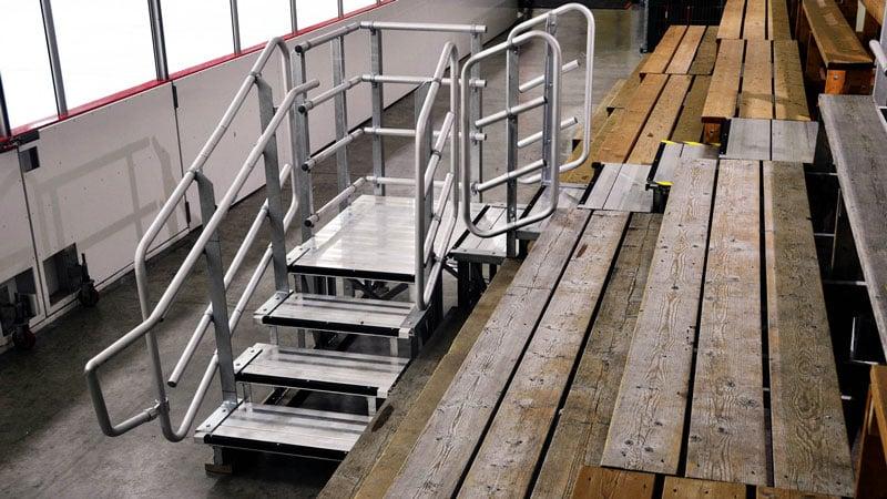 new-aluminum-stairs-handrails-carp-arena