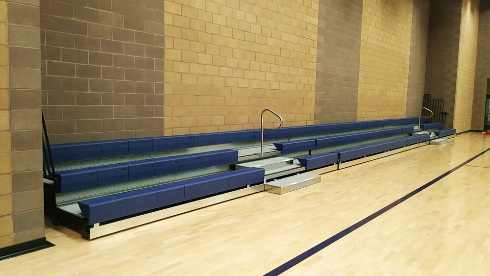 retractable-bleachers-salvation-army-boise