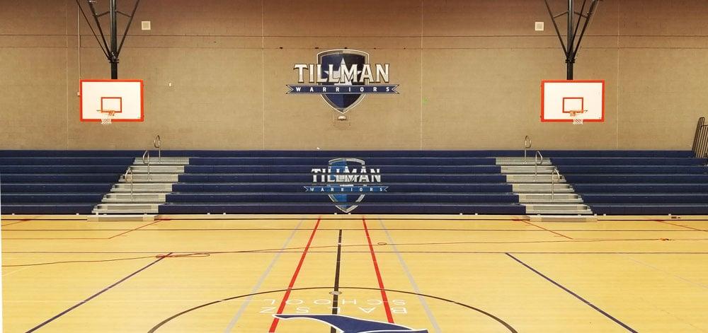 tillman-warriors-logo-bleachers