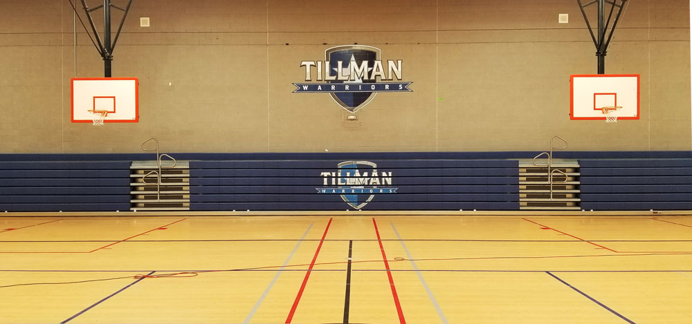 tillman-warriors-logo-printing