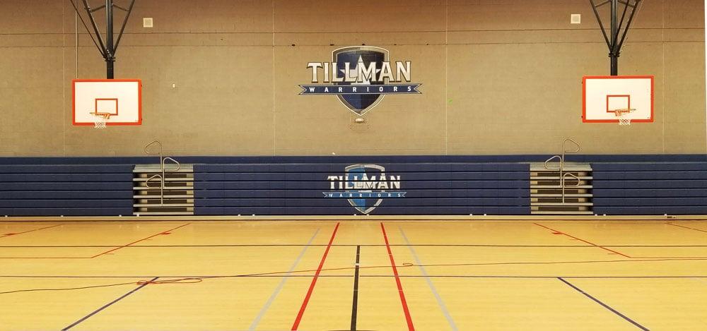 tillman-warriors-logo-printing