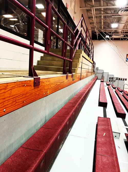 top-view-of-bleachers-Audrey-Moore-Rec-Center