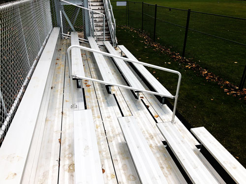 tweedsmuir-school-bleachers